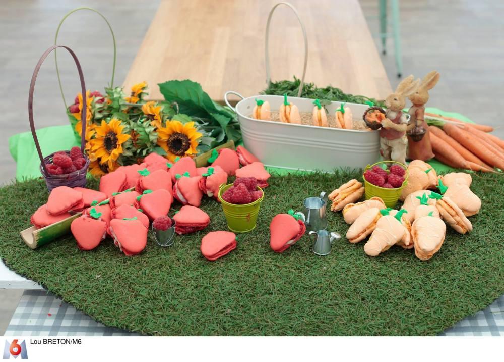 Le jardin de macarons